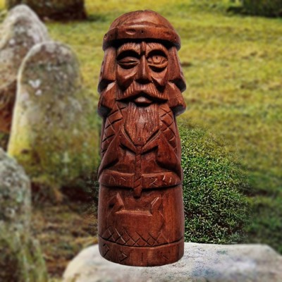 Odin Figur aus Holz