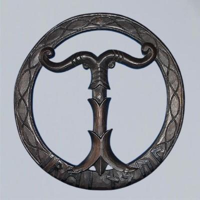 Irminsul World Tree, carved