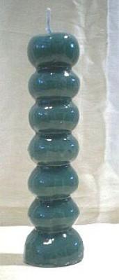 Figura candela per scopi magici - 7 pulsanti verdi