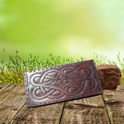 Boîte avec motif noeud celtique grand