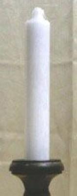 Bougie géante blanche
