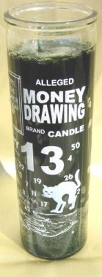 7 Day Glass Candle - Money Drawing