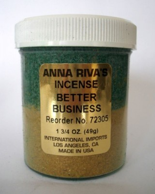 Anna Riva encens Better Business