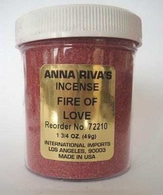 Incenso Anna Riva Fire of Love