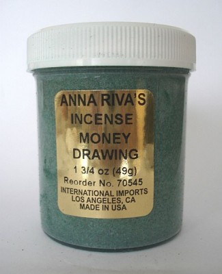 Incenso Anna Riva Money Drawing