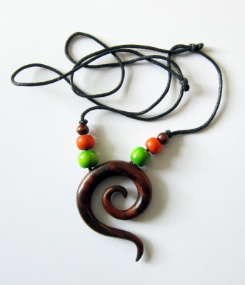 Necklace Spiral, simple