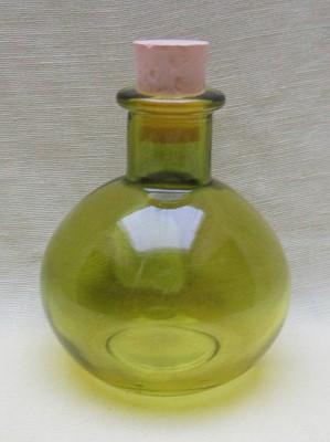 Bouteille d'élixir boule verte avec bouchon 100 ml