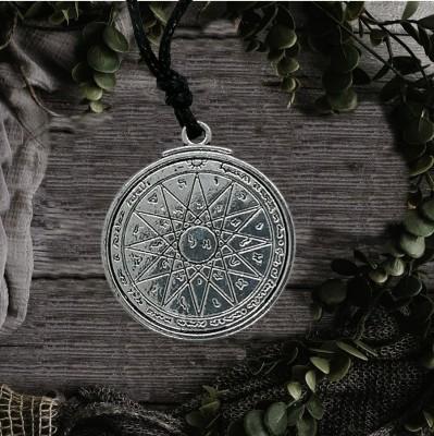 Mercury pentagram pendant
