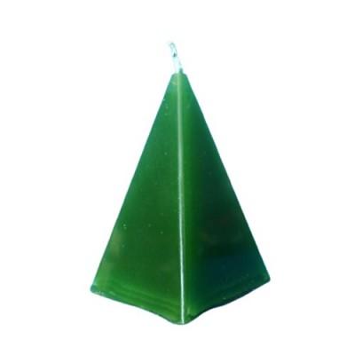 Candela piramide verde Money Drawing (attira denaro)