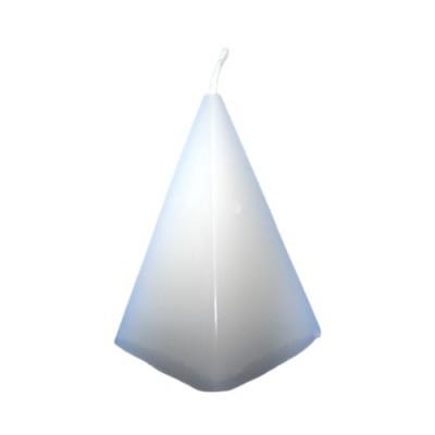 Pyramidenkerze, weiß, Healing-Ritual (Heilungsritual)