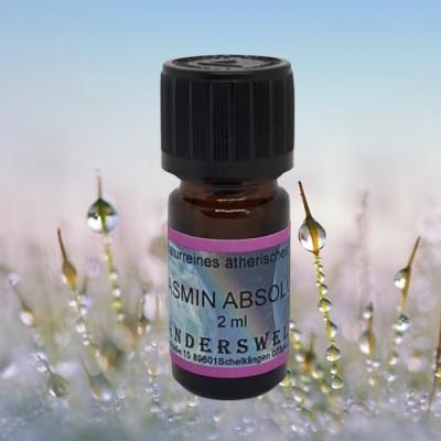 Essential Oil Jasmine Absolue  (Jasminum grandiflorum)