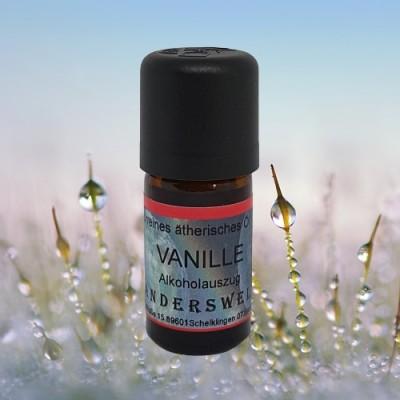 Huile essentielle Vanille Extrait à l´aide d´alcool (vanilla planifolia)