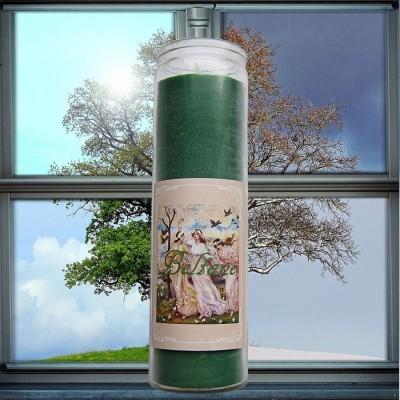 Beltane Roue de l'Année Bougies en verre