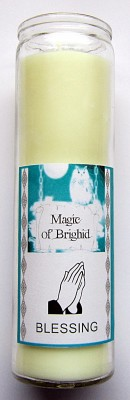 Magic of Brighid Candele in vetro Blessing
