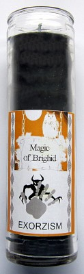 Magic of Brighid Glass Candle Exorcism