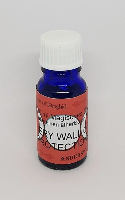 Magic of Brighid Magic Oil ethereal Fiery Wall of Protection 10 ml