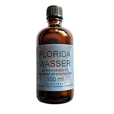 Floridawasser 100 ml auf Alkoholbasis mit naturreinen, ätherischen Ölen