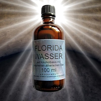 Eau de Florida 100 ml à base d'alcool avec des huiles essentielles pures naturelles