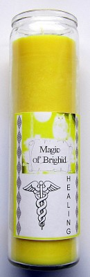 Magic of Brighid Candele in vetro Healing