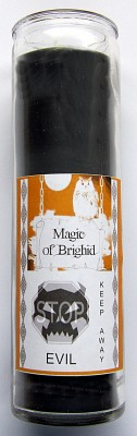 Magic of Brighid Glass Candle Keep away Evil