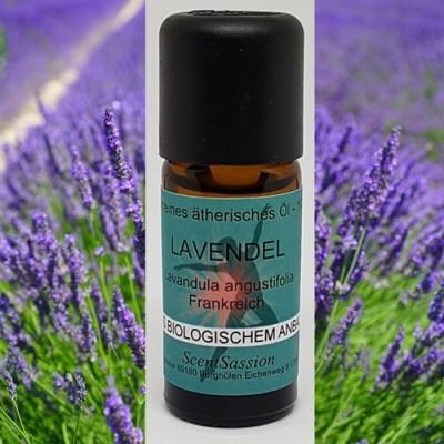 Olio essenziale Lavanda Bio (Lavandula angustifolia) 10 ml