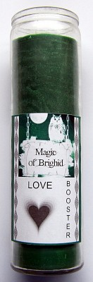 Magic of Brighid Bougie en verre Love Booster