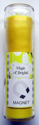 Magic of Brighid Glass Candle Magnet