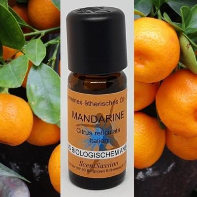 Huile essentielle Mandarine rouge Bio (Citrus reticulata) 10 ml