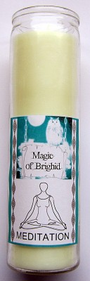 Magic of Brighid Glass Candle Meditation