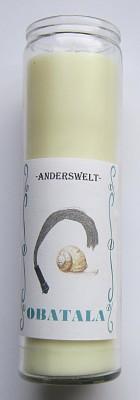 Voodoo Orisha Jar Candle Obatala