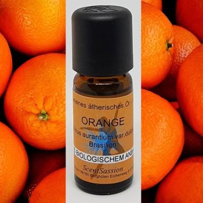 Huile essentielle Orange Bio (Citrus aurantium dulcis) 10 ml