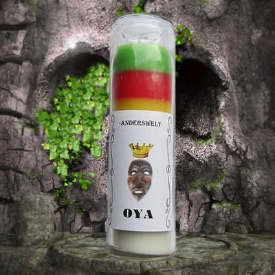 Voodoo Orisha Jar Candle Oya