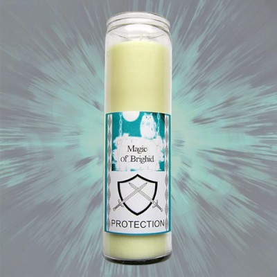 Magic of Brighid Candele in vetro Protection