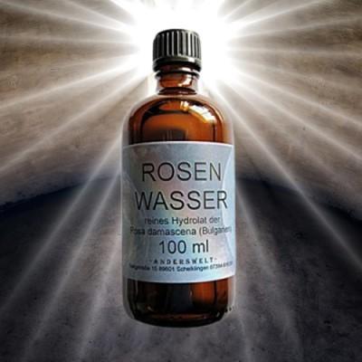 Acqua di rose 100 ml idrosol puro di Rosa damascena (Bulgaria)