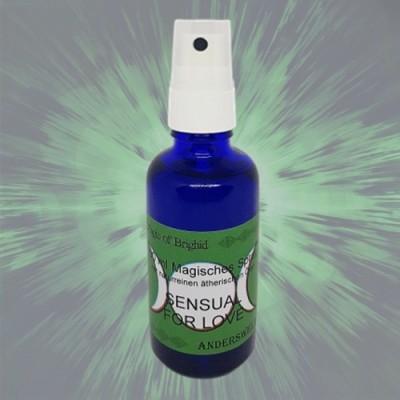 Magic of Brighid Spray magique essentielles Sensual for Love 50 ml