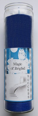 Magic of Brighid Glass Candle Success