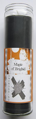 Magic of Brighid Glass Candle Uncrossing