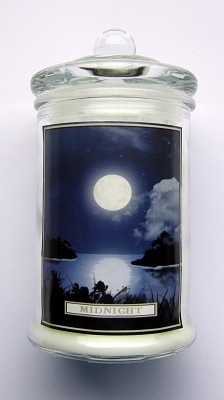 Magic of Brighid Pleine lune Bougie rituel en verre