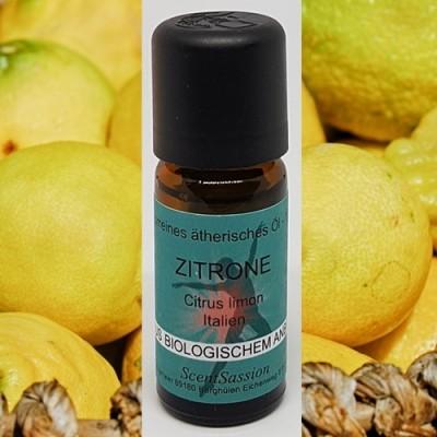 Huile essentielle Citron Bio (Citrus limonum) 10 ml
