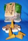 Tissue Magic cône d'encense avec support en petit sac, marine