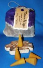 Tissue Magic Incense Cones with holder in a bag, Rain Forest