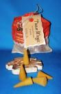 Tissue Magic Incense Cones with holder in a bag, Vanilla