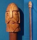 Runenstab Odin mit den 24 Runen des älteren Futhark
