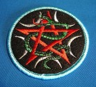 Patch Pentagram with snake
