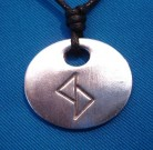 Binderunen Amulett Glück