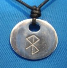 Amuleto runa della felicità e del benessere