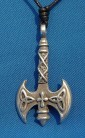 Pendant Double ax with Triquetta