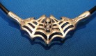 Kautschuk-Halskette Spinnwebe