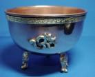 Incense Burner Copper Bowl 3-legged base