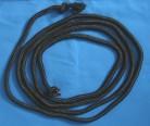 Cordino nero 3 m